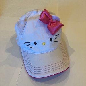 🍊3/$20 Hello Kitty Baseball Cap with Bow & Ears